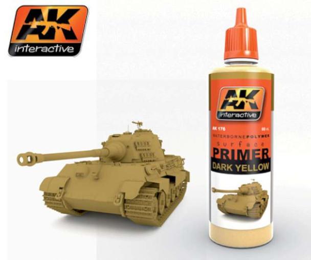 AK Interactive Rust Acrylic Primer 60ml Bottle -- Hobby and Model 184