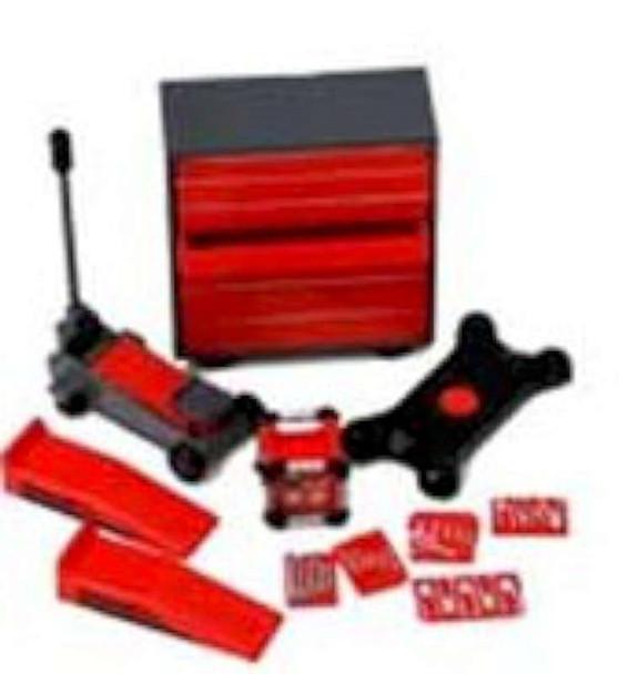 Summit Gifts 16057: 1:24 Scale Backyard Mechanic Accessory Set