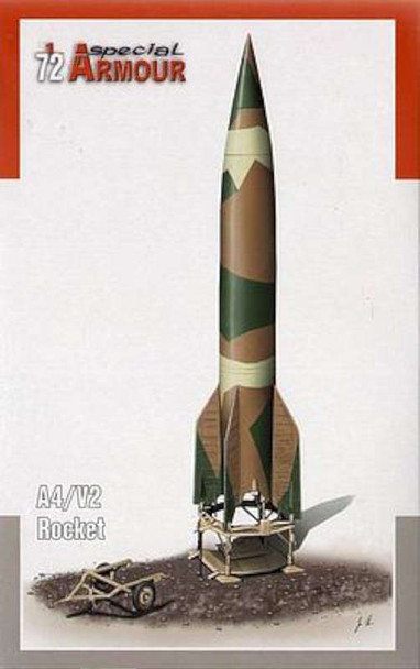 A4/V2 Ballistic Missile -- Plastic Model Military Vehicle Kit -- 1/72 Scale -- #172003