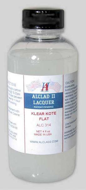 Alclad II Lacquers ALC314 Klear Kote Flat 4 oz