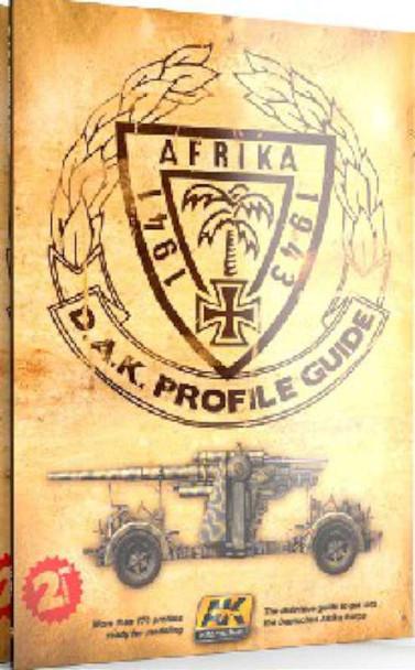 AK Interactive D.A.K. Profile Guide AK 271