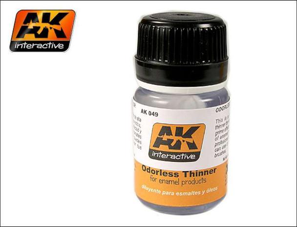 AK Interactive AK00049 Odourless Thinner 35ml 49