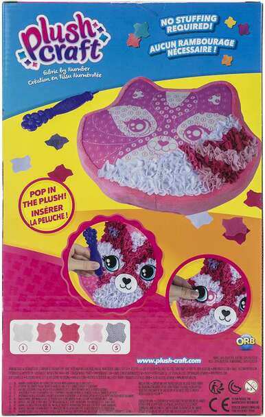 Plushcraft Fabric By Number Kit