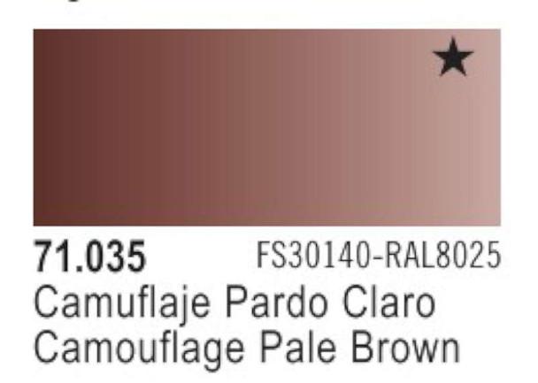 Vallejo Camo Light Brown Paint, 17ml