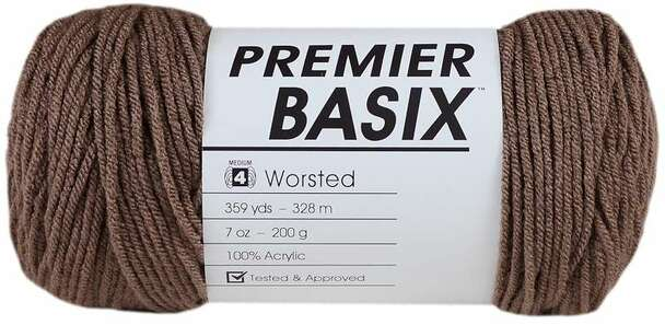 Premier Yarns Basix Yarn Pecan