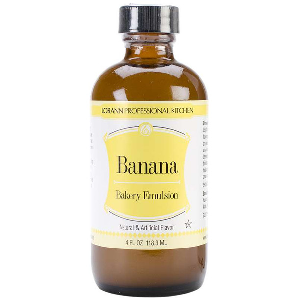 Bakery Emulsions Natural & Artificial Flavor 4oz Banana
