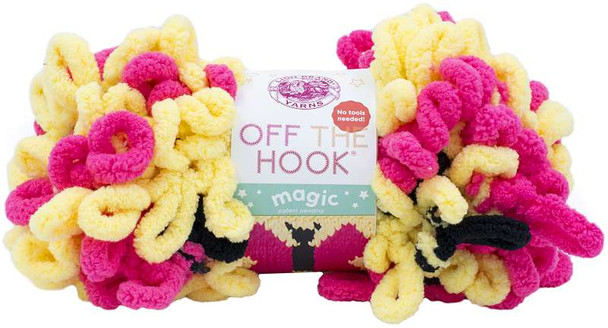 Lion Brand Off The Hook Magic Yarn Butterfly