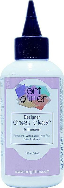 Art Institute Glitter Designer Dries Clear Adhesive 4oz Not Shipping Until Spring 2019