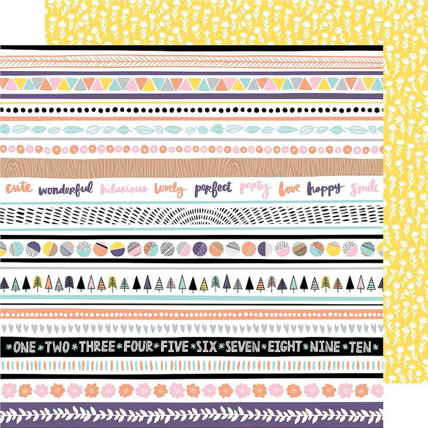 """Amy Tan Shine On Double-Sided Cardstock 12""""X12"""" Even Out"""