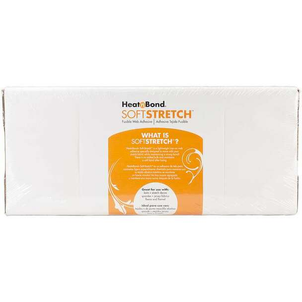 """Heat'n Bond Ultra Soft Stretch Iron-On Adhesive 17""""X20yd FOB: MI"""