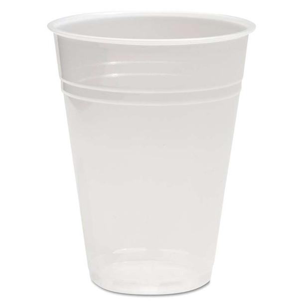 Boardwalk® Translucent Plastic Cold Cups, 9oz, 100/Pack