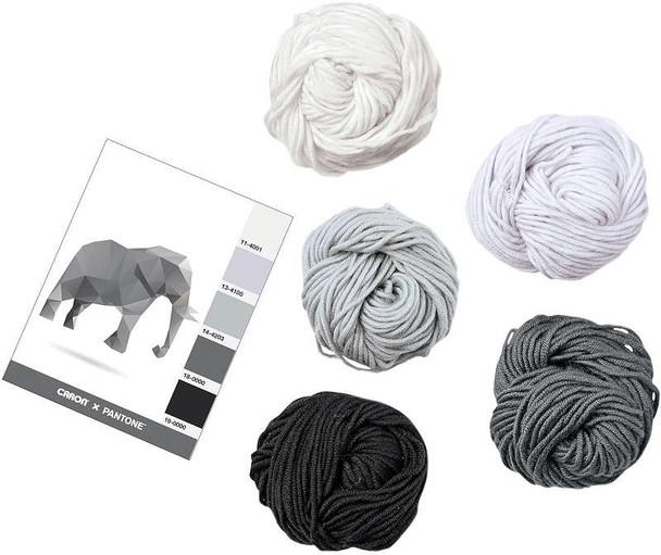Caron X Pantone Yarn Elephant Gray