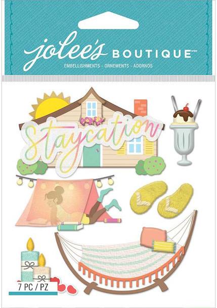Jolee's Boutique Themed Embellishments 7/Pkg Staycation