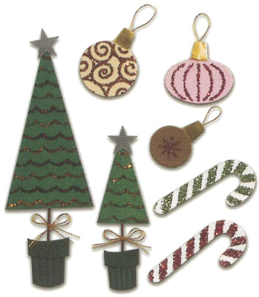 Jolee's Christmas Stickers Christmas Decorations
