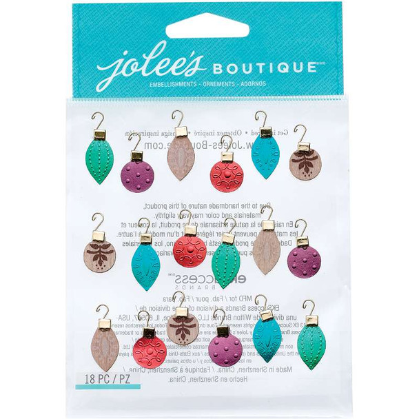 Jolee's Christmas Stickers Ornaments