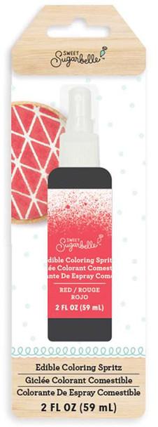 Sweet Sugarbelle Edible Color Mist 2oz Red