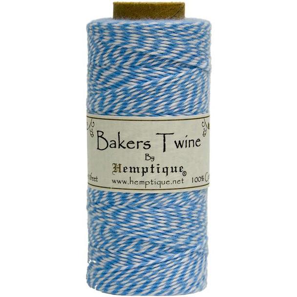 Cotton Baker's Twine Spool 2-Ply 410' Blue