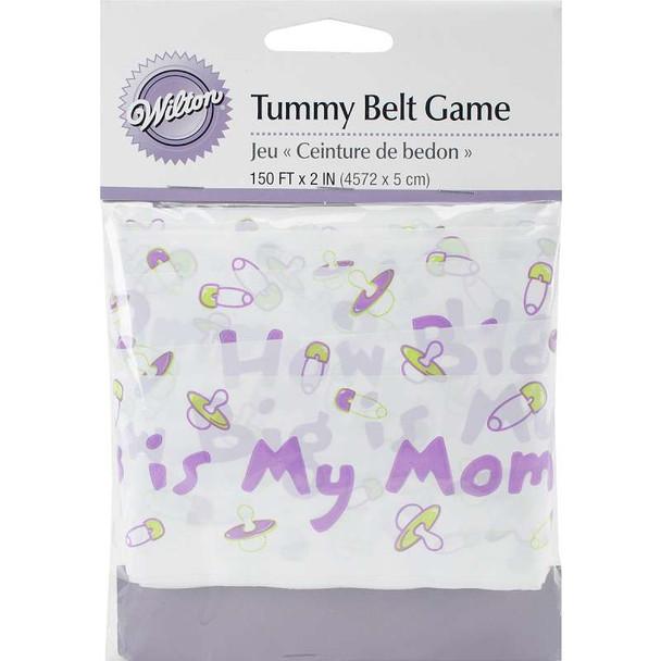 """Baby Shower Tummy Belt 2""""X150'"""
