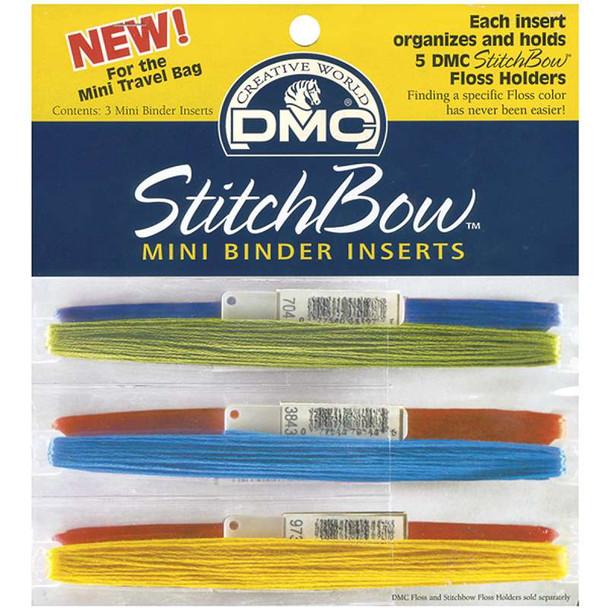StitchBow Mini Binder Inserts 3/Pkg