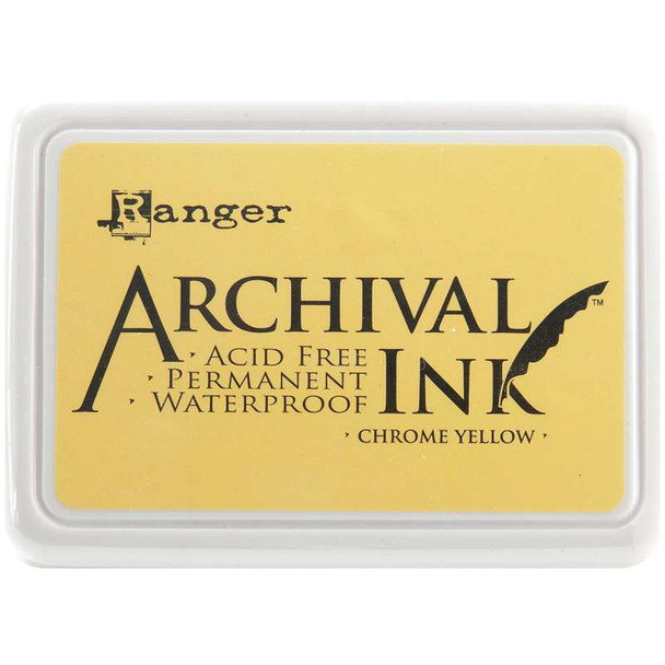 Archival Ink Pad #0 Chrome Yellow
