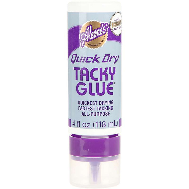 Aleene's Always Ready Quick Dry Tacky Glue 4oz