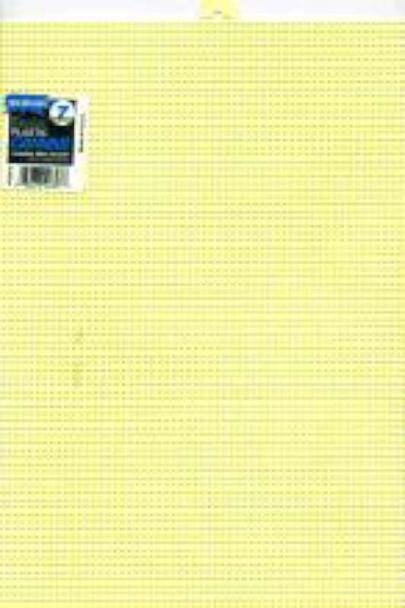 "Plastic Canvas 7 Count 10""X13"" Yellow"