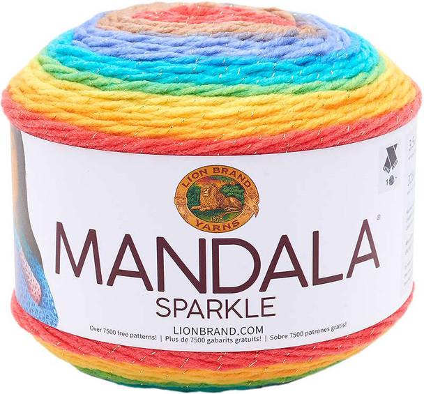 Lion Brand Yarn Mandala Sparkle Hercules