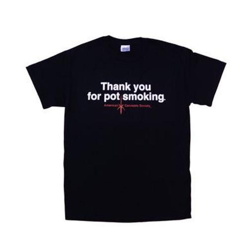 T-shirt thank you for pot smoking