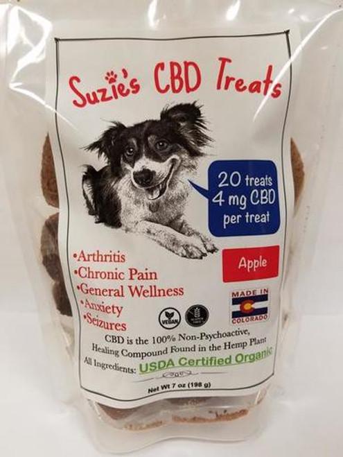 CBD Apple Dog Treats Madison WI