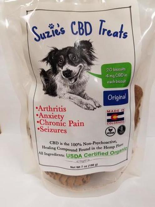 Original flavored cbd pet treats