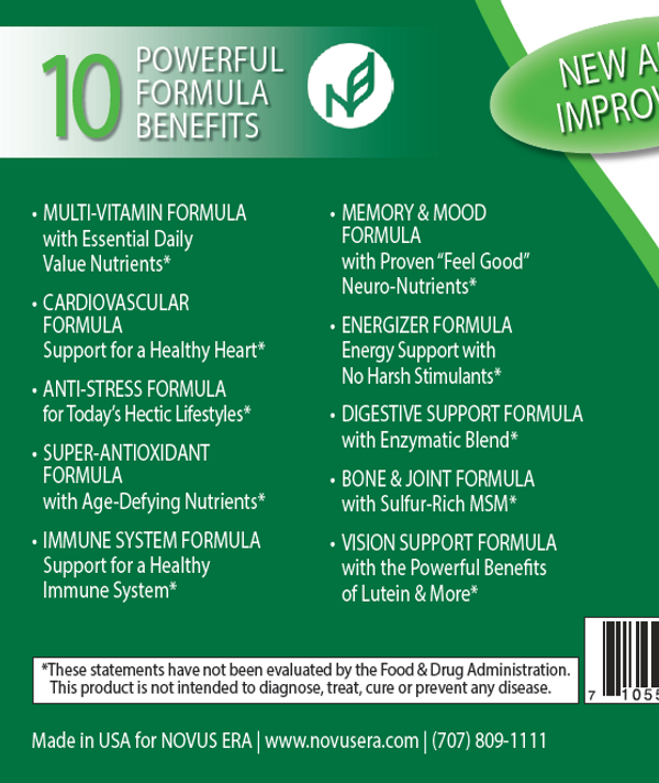 10-IN-ONE VITAMINS & SUPERFRUITS