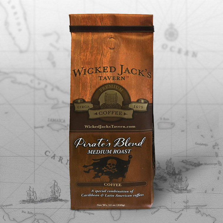 Wicked Jack's Coffee - Pirate's Blend (12oz.)