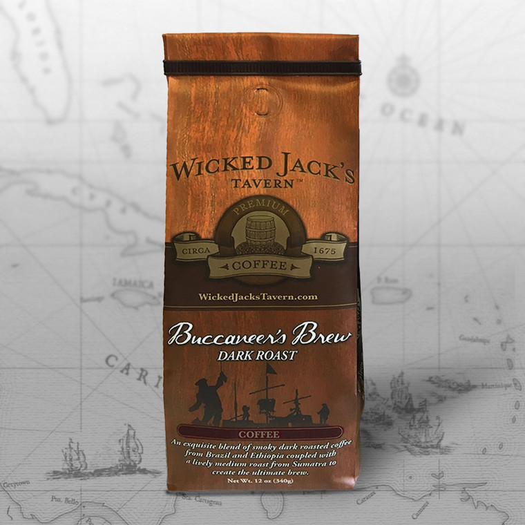 Wicked Jack's Coffees - Buccaneer's Brew Coffee (12oz.)