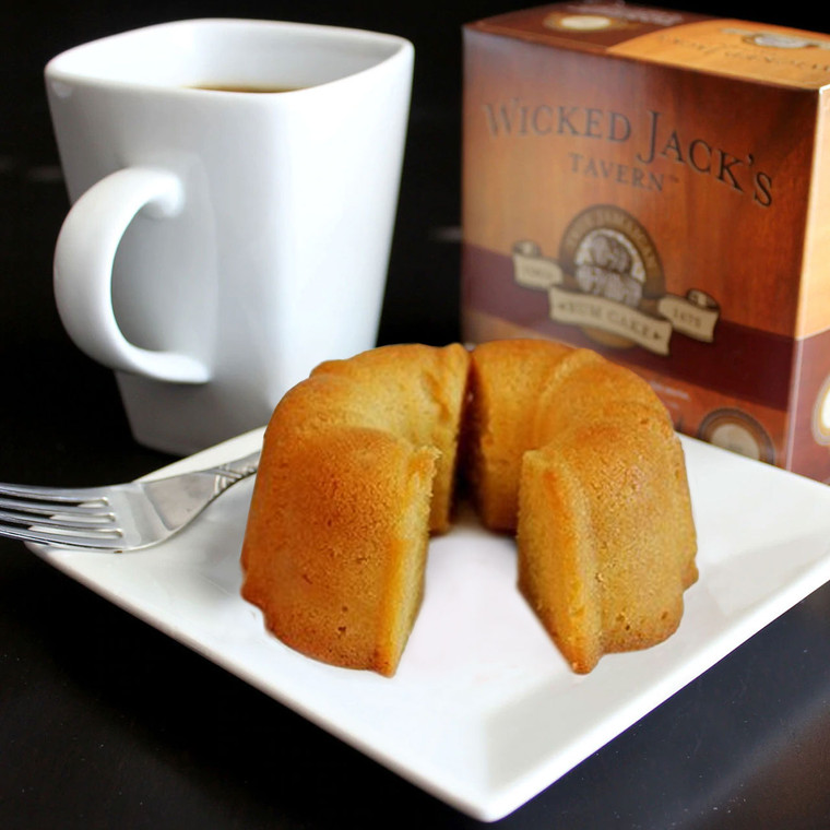 Wicked Jack's Rum Cake - Butter Rum (4oz.)
