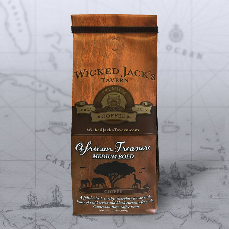Wicked Jack's Coffee - African Treasure (12oz.)
