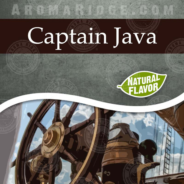 Captain Java -  Natural Flavored Coffee
