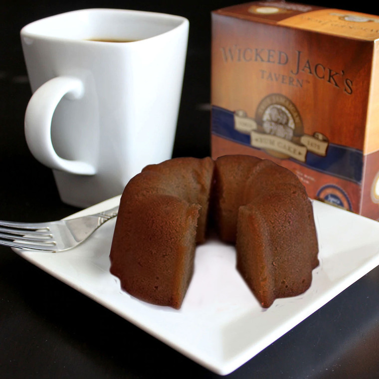 Wicked Jack's Rum Cake - Jamaica Blue Mountain Coffee (4oz.)