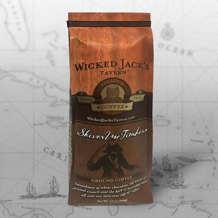 Wicked Jack's Coffee - Shiver Me Timbers! (12oz.)