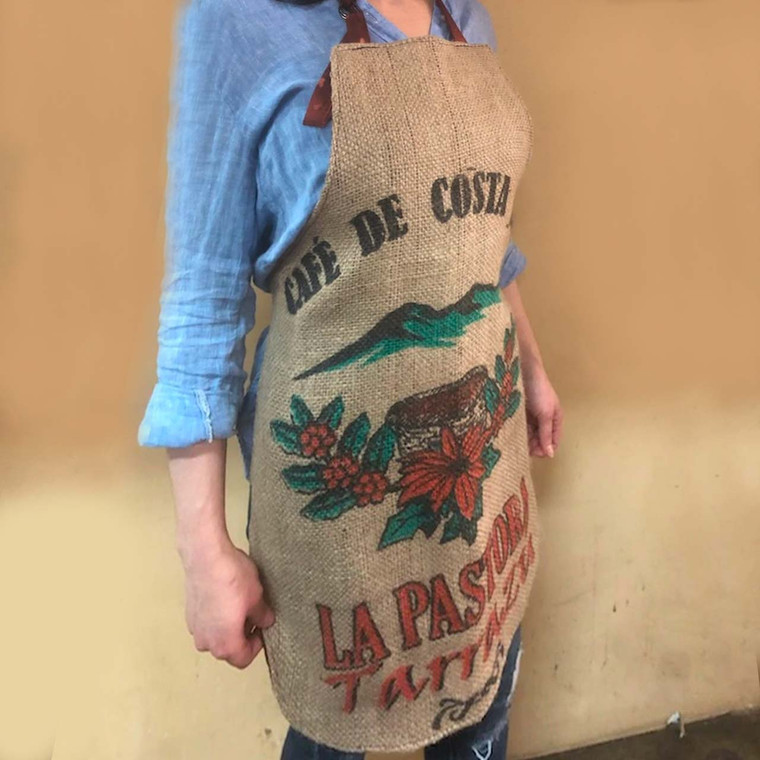 Authentic Burlap Apron - Costa Rica