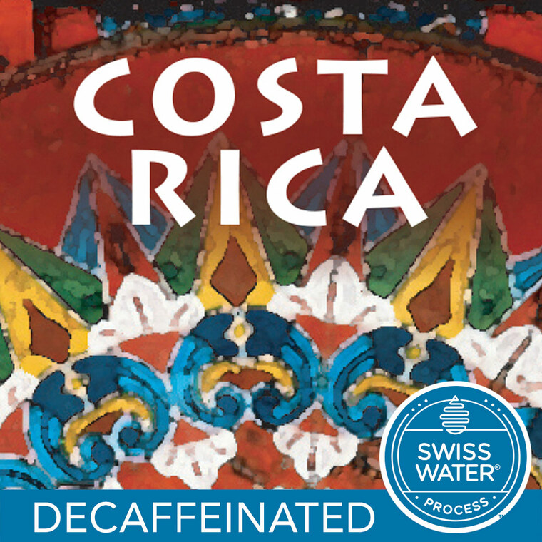 Costa Rica Tarrazu Coffee Decaf
