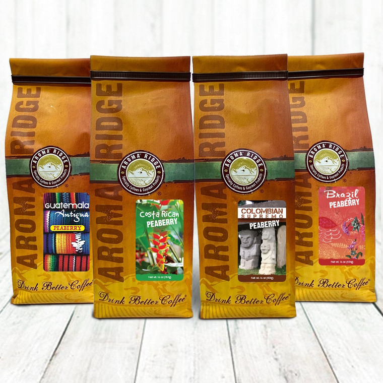 The  Peaberry Coffee Collection