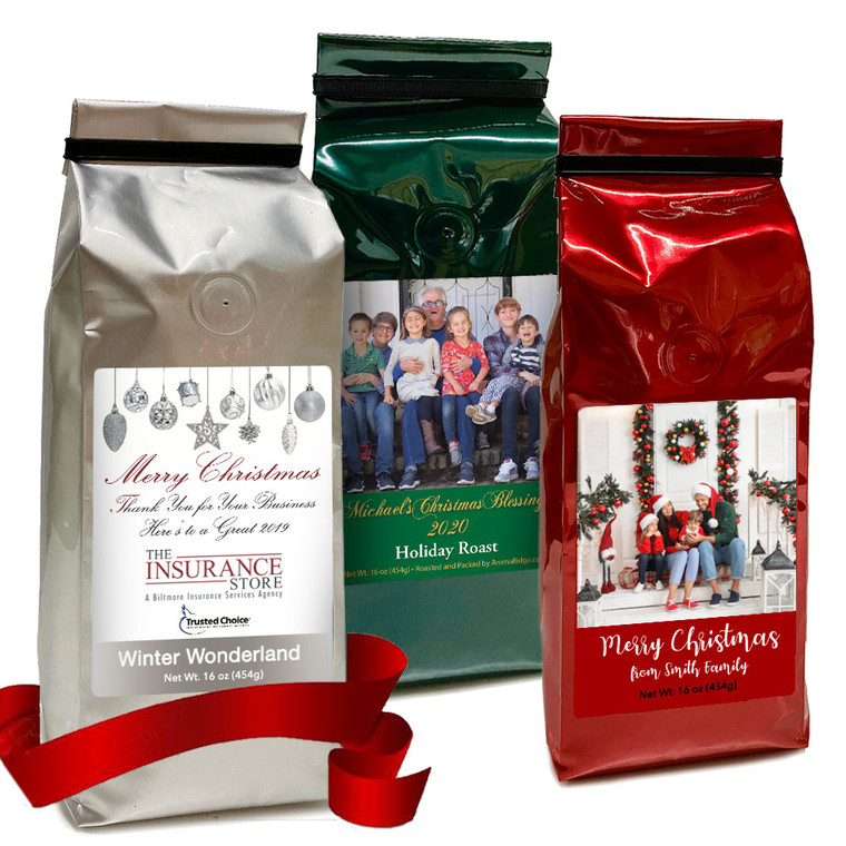 A Personalize Your Coffee Gifts (16 oz) –     set of 12 bags