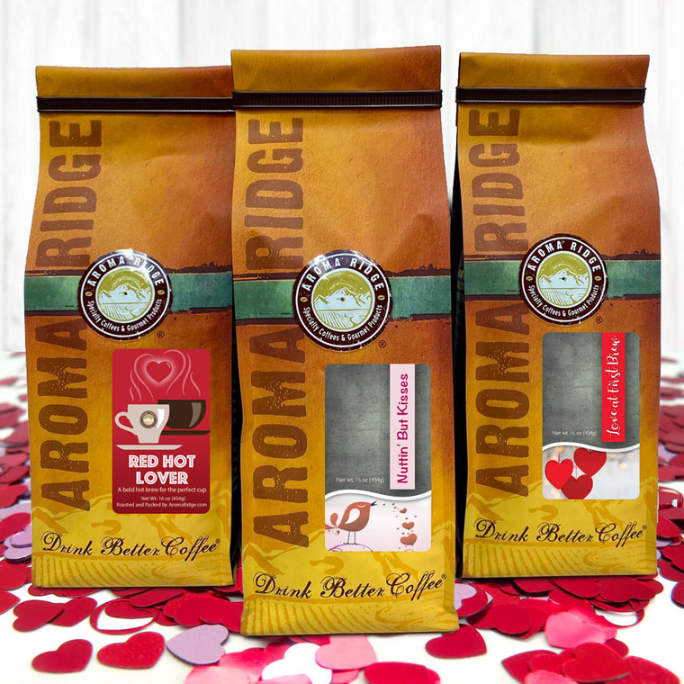 Drink, Love Coffee -Valentines day Flavored Collection