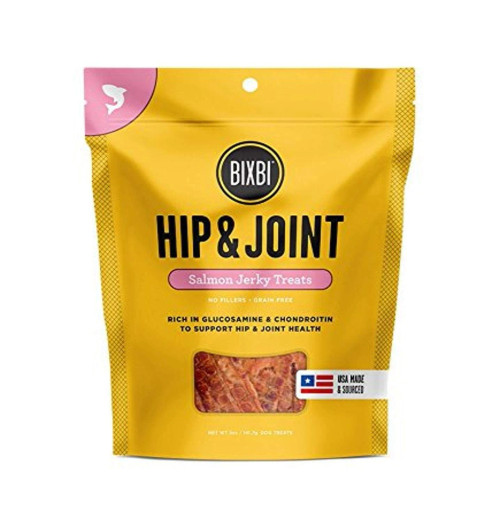 Bixbi Hip and Joint Jerky Salmon
