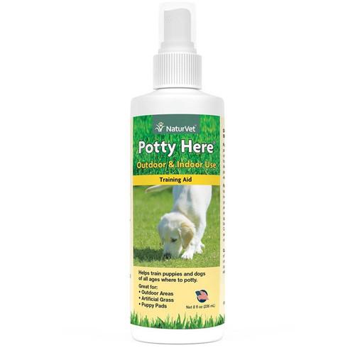 NaturVet Potty Here Spray