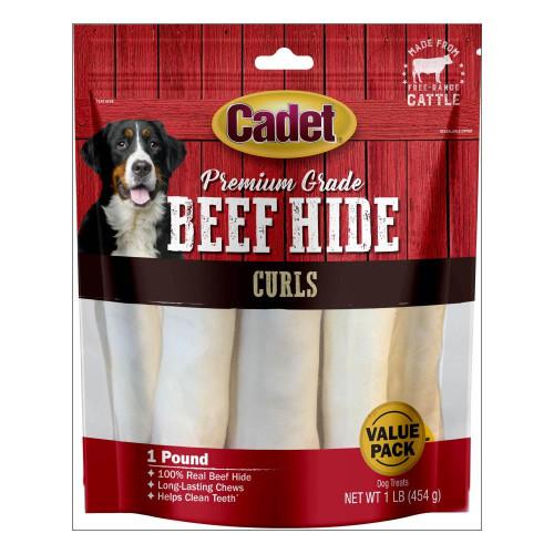 cadet_premium_grade_beef_hide_dog_chew_curls
