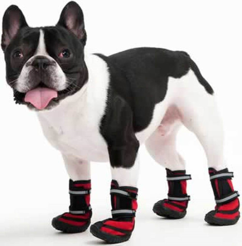 ethical_pet_performance_red_waterproof_dog_boots