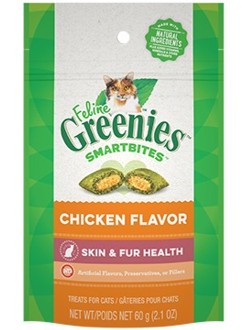 greenies_2_1oz_feline_smartbites_skin_and_coat