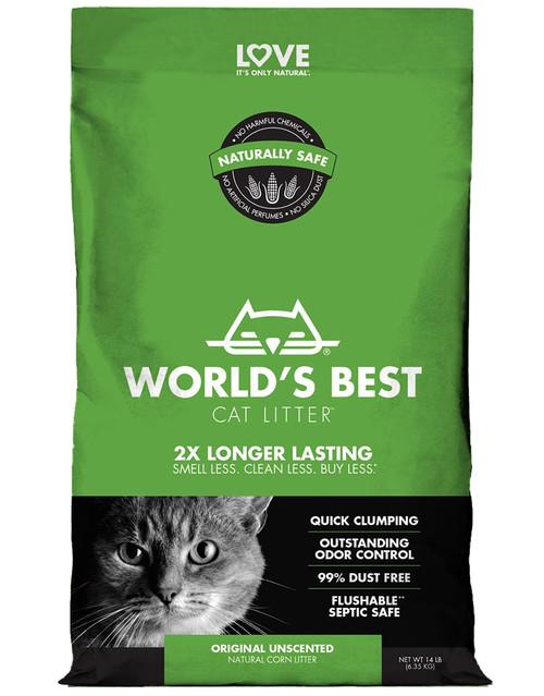 World's Best Cat Litter Original Unscented