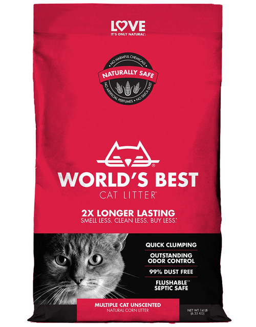 World's Best Cat Litter Multi Cat Unscented